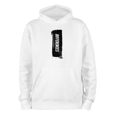 B Young Differences Paint Stripe White Hoody