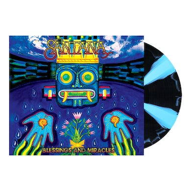 Santana Blessings And Miracles Cornetto Double LP (Vinyl)