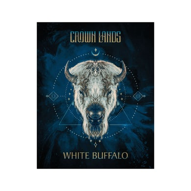 Crown Lands White Buffalo Poster