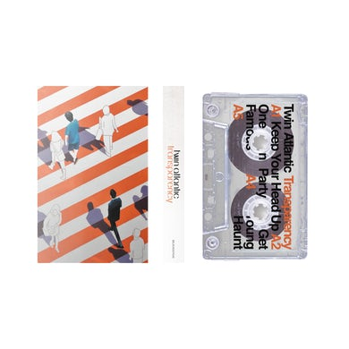 Twin Atlantic Transparency Clear Cassette (Signed) Cassette