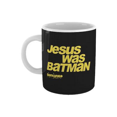 Black Grape Jesus Was Batman Mug