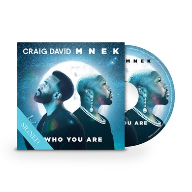 Craig David Who You Are(Signed)  CD Single