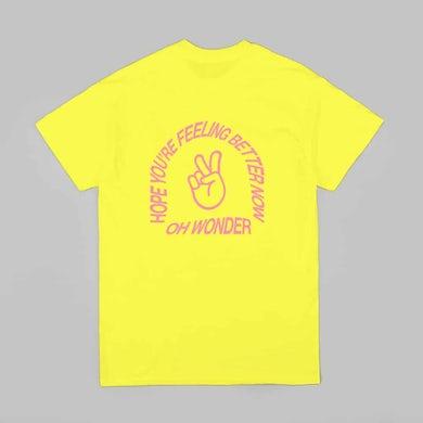 Oh Wonder Better Now T-Shirt // Yellow