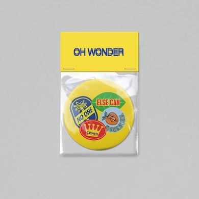 Oh Wonder Pocket Mirror