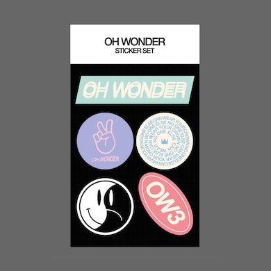 Oh Wonder OW3 Sticker Set