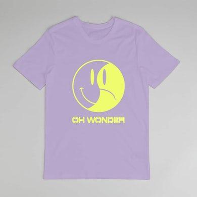 Oh Wonder Purple Happy/Sad T-Shirt