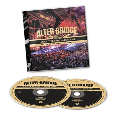 Alter Bridge Live At The Royal Albert Hall Featuring The Parallax Orchestra Deluxe CD