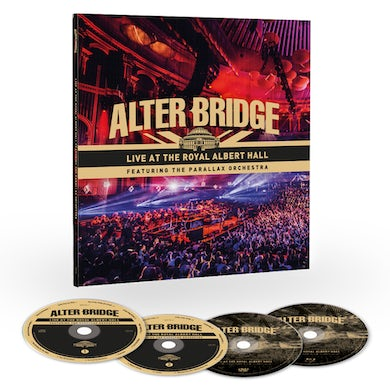 Alter Bridge Live At The Royal Albert Hall Featuring The Parallax Orchestra EarBook Deluxe CD