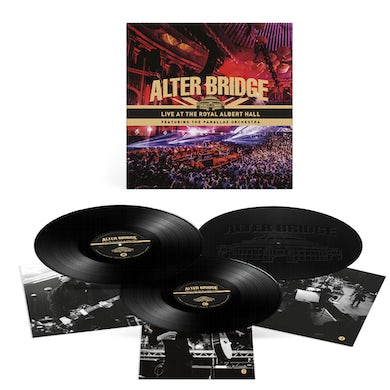 Alter Bridge Live At The Royal Albert Hall Featuring The Parallax Orchestra Triple LP (Vinyl)