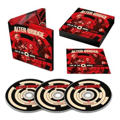 Alter Bridge Live At The O2 Arena + Rarities 3CD Album Deluxe CD