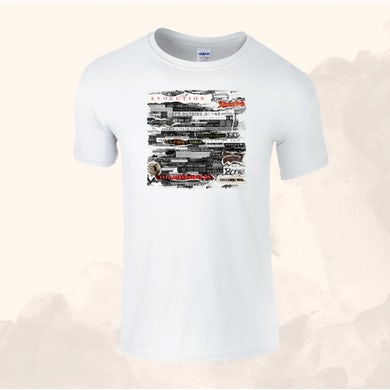 Anastacia Ladies White T-Shirt (Online Exclusive)