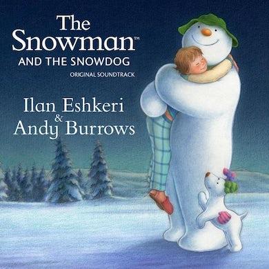 Andy Burrows The Snowman & The Snowdog White Heavyweight LP (Vinyl)