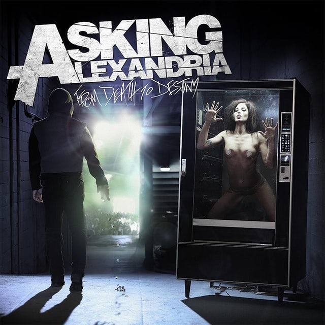 Asking Alexandria From Death to Destiny CD