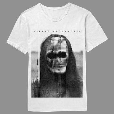 Asking Alexandria The Black Album White T-Shirt