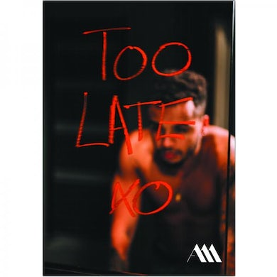 Aston Merrygold Too Late A3 Poster