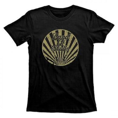 Band Of Skulls  Gold Circle T-Shirt