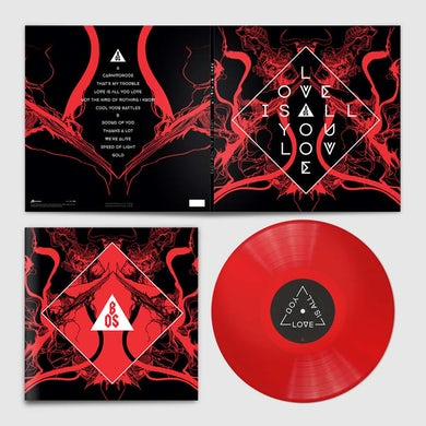 Band Of Skulls  Love Is All You Love Limited Edition Signed Deluxe Vinyl LP