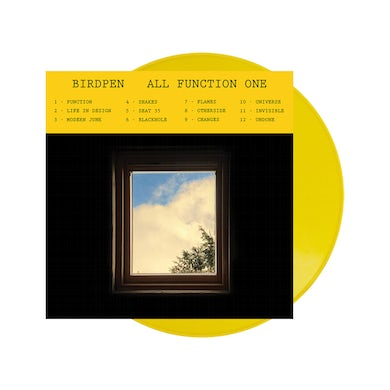 BIRDPEN All Function One Sunflower Yellow Vinyl + Name In Credits LP