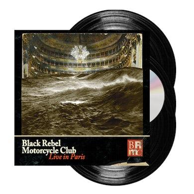 Black Rebel Motorcycle Club Live In Paris 3LP + DVD Triple Heavyweight LP