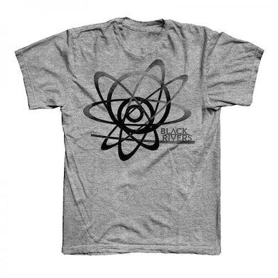 Grey Black Rivers T-Shirt