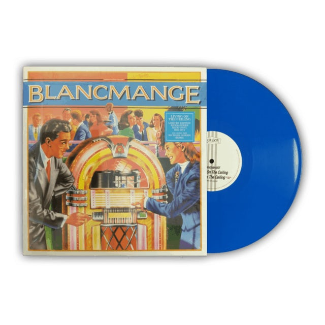 Blancmange Living On The Ceiling Blue 12 Inch