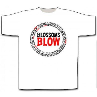 Blossoms Blow White T-Shirt