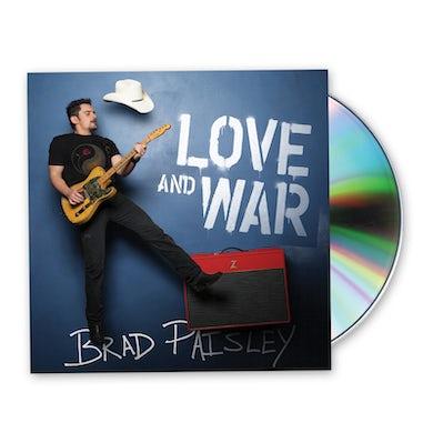 Brad Paisley Love And War CD