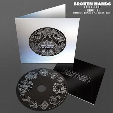 BROKEN HANDS Turbulence CD