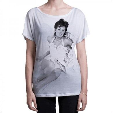 Bryan Ferry Roxy Music Ladies White T-Shirt