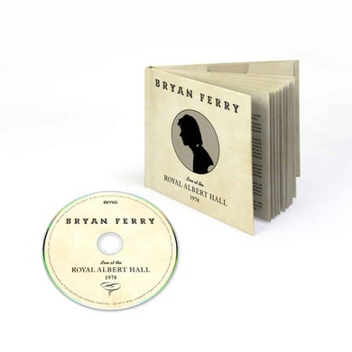 Bryan Ferry Live At The Royal Albert Hall 1974 CD  CD