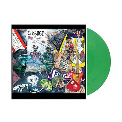 Cabbage The Extended Play Of Cruelty Green 10 Inch (Vinyl)