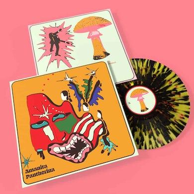 Cabbage Amanita Pantherina Black Splattered LP (Vinyl)