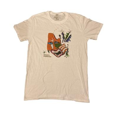 Cabbage Amanita Pantherina Screen Printed Natural T-shirt