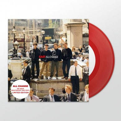 Cast All Change 20th Anniversary LP Reissue Heavyweight LP (Vinyl)