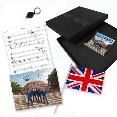 Collabro Road To The Royal Albert Hall Commemorative Edition CD Collector's Pack