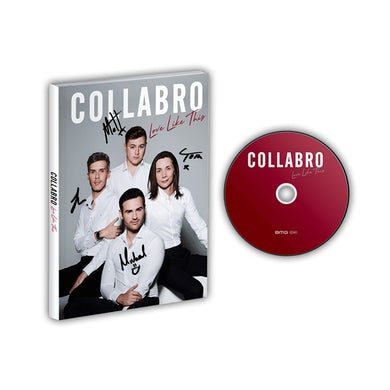 Collabro Love Like This Signed Deluxe CD