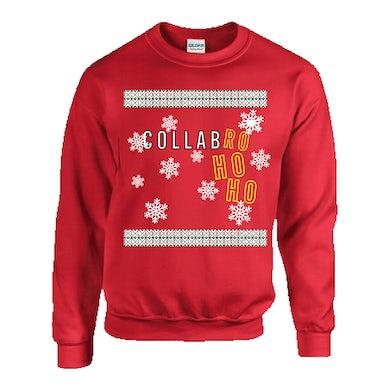 Collabro Ho Ho Christmas Sweatshirt (Red)
