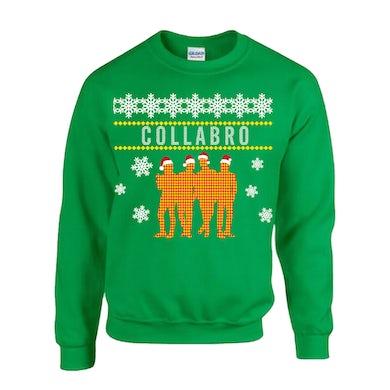 Collabro Silhouette Christmas Sweatshirt (Green)