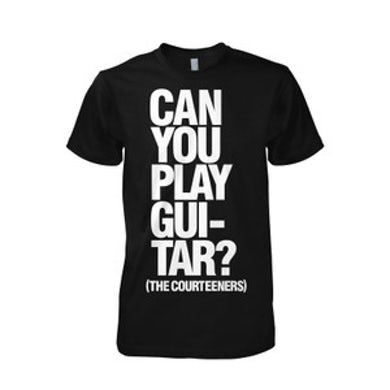 Courteeners Guitar Black T-Shirt