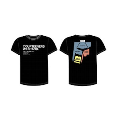 Courteeners Black Event T-Shirt