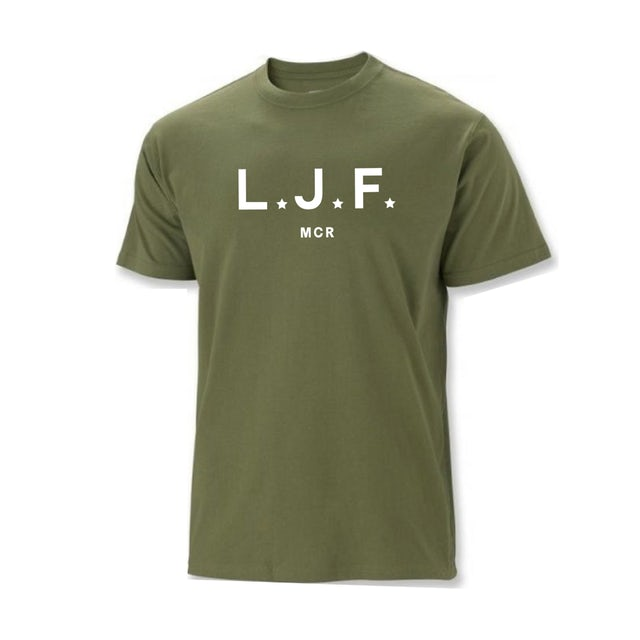 Courteeners LJF T-Shirt
