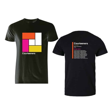 Courteeners Winter 2018 Tour T-Shirt