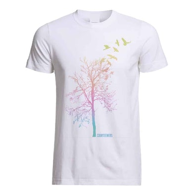 Courteeners Pastel Ombre Tree T-Shirt