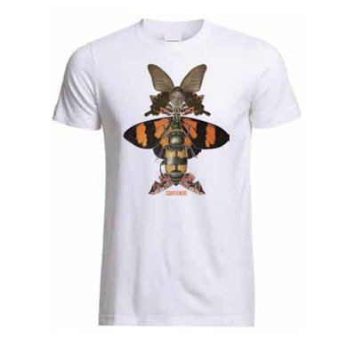 Courteeners White Insect T-Shirt