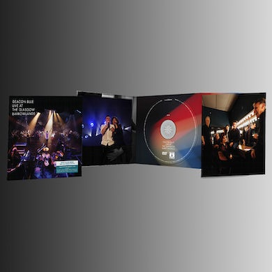 Deacon Blue Live at the Glasgow Barrowlands CD/DVD