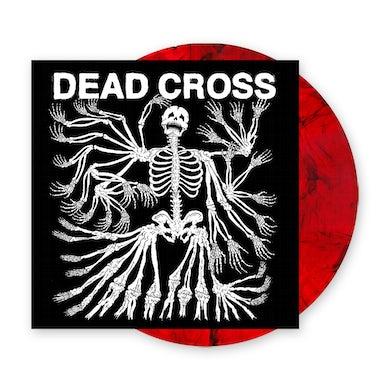 Dead Cross Clear Red/Black Swirl Vinyl LP (with Glow In The Dark Artwork) Heavyweight LP