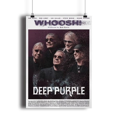 Deep Purple A2 Band Poster Whoosh!