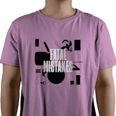 Del Amitri Pink Parts T-shirt