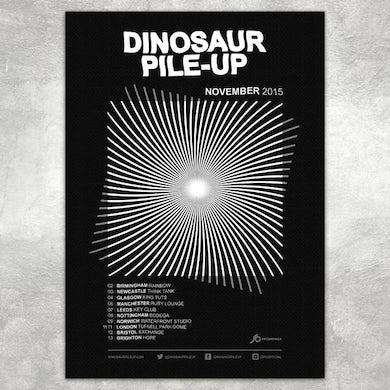 Dinosaur Pile-Up Eleven Eleven Tour Poster