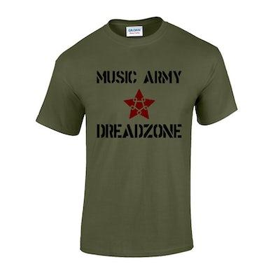 Dreadzone Music Army T-Shirt - Mens & Ladies